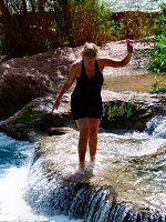 The Daredevil at Havasu Falls
