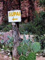 Sign to Supai